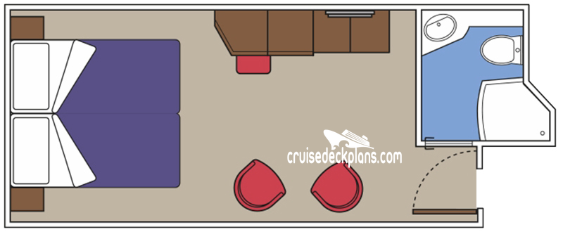 MSC Meraviglia Interior Diagram Layout