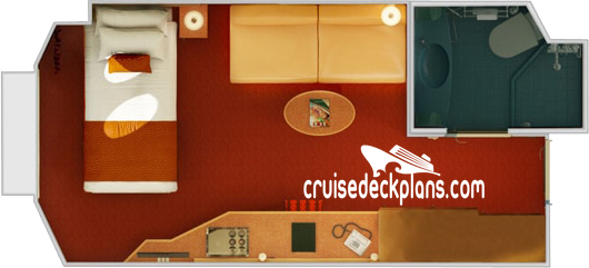 Carnival Splendor Small Interior Diagram Layout