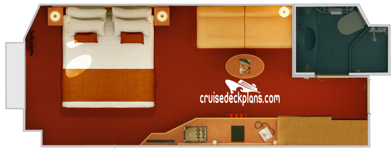 Carnival Magic Porthole Diagram Layout