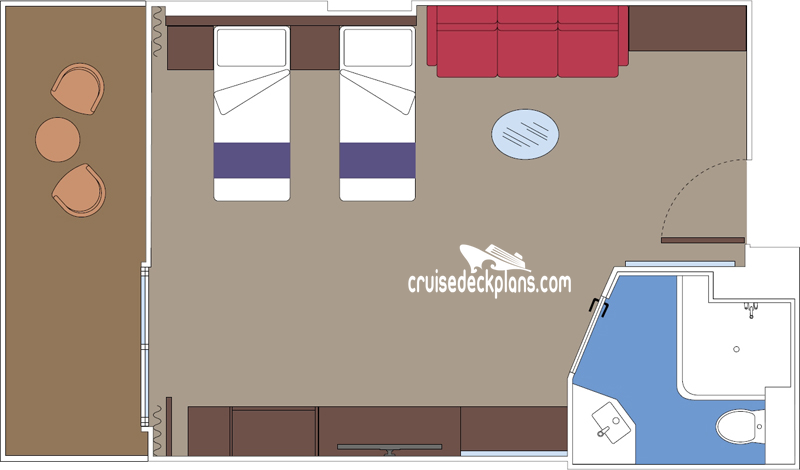 yacht club inside suite