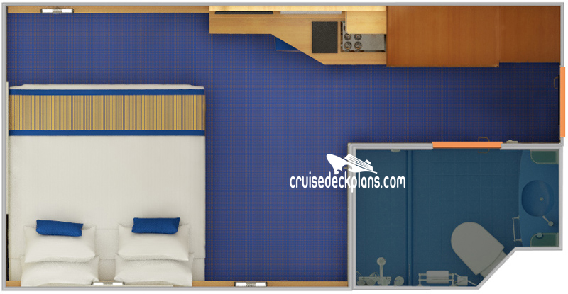 Carnival Sunshine Interior Diagram Layout