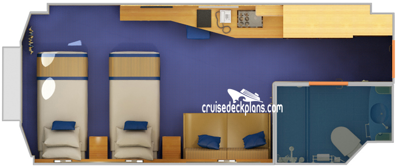 Carnival Sunshine Porthole Diagram Layout