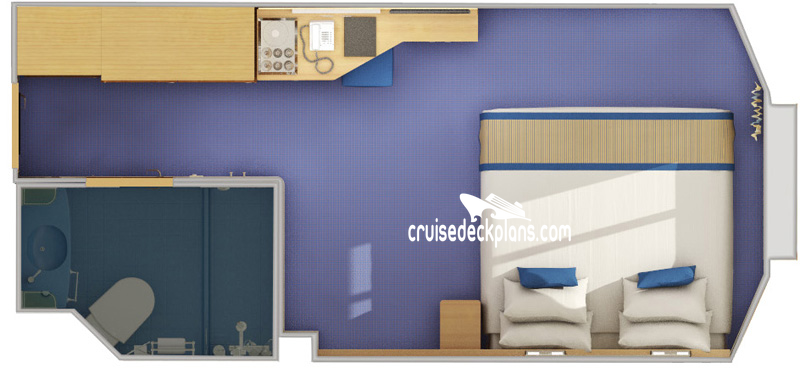 Carnival Sunshine Interior with Picture Window Diagram Layout