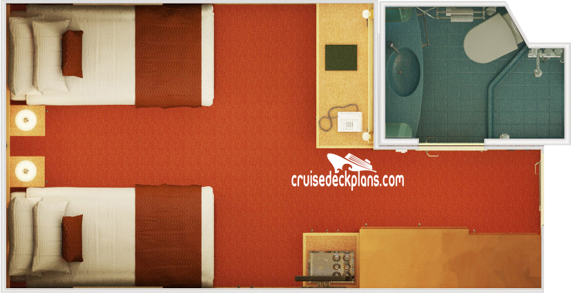Carnival Magic Interior Diagram Layout
