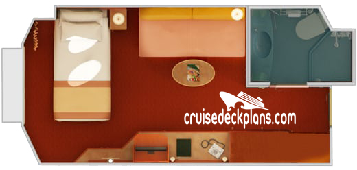 Carnival Triumph Small Interior Diagram Layout