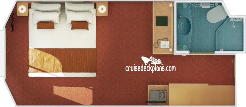 Carnival Magic Interior with Picture Window Diagram Layout