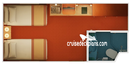 Carnival Glory Interior Diagram Layout