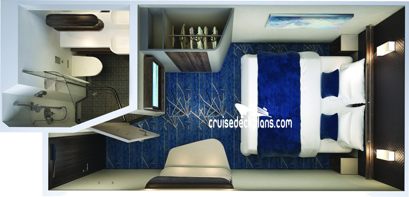 Norwegian Encore Interior Diagram Layout