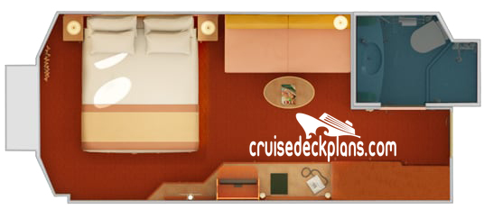 Carnival Glory Porthole Diagram Layout
