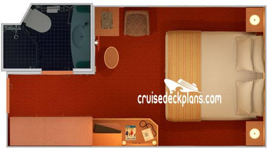 Carnival Spirit Interior Diagram Layout