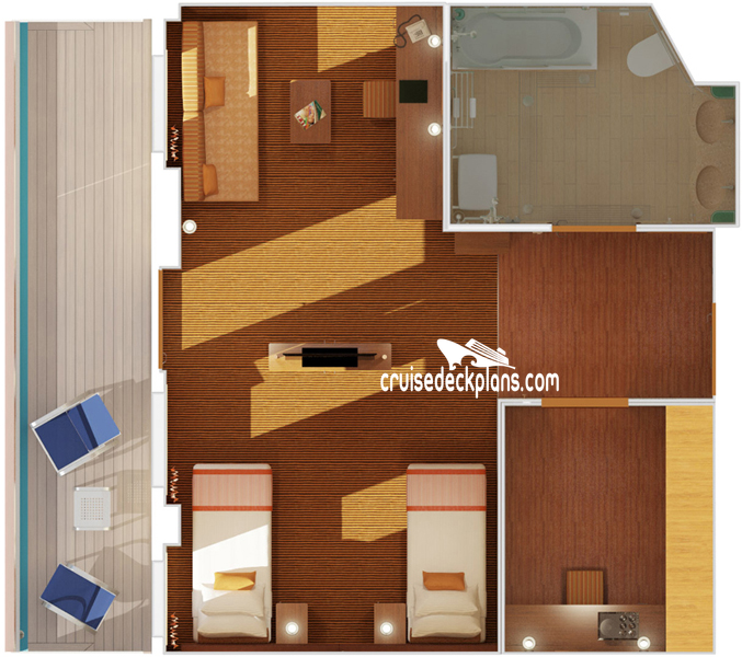 Carnival Breeze Deck Plans Diagrams Pictures Video
