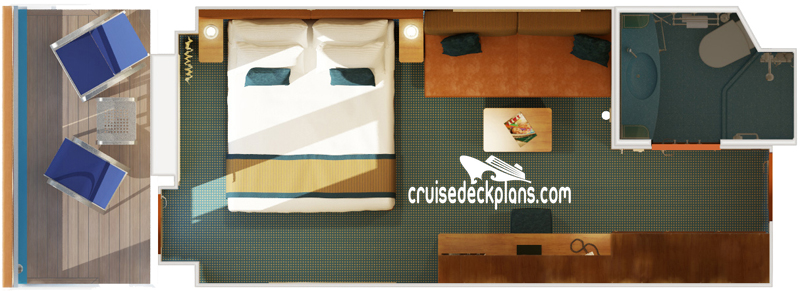 Carnival Magic Balcony Diagram Layout