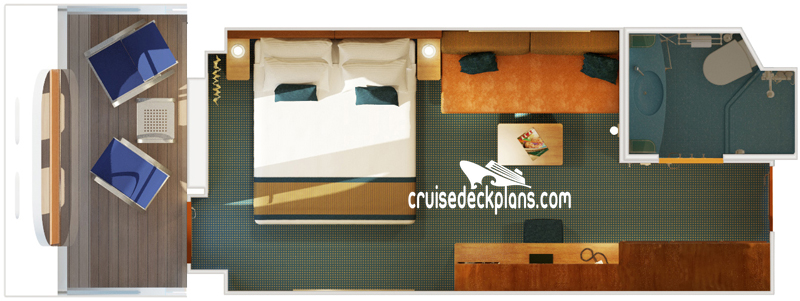 Carnival Dream Cove Balcony Diagram Layout