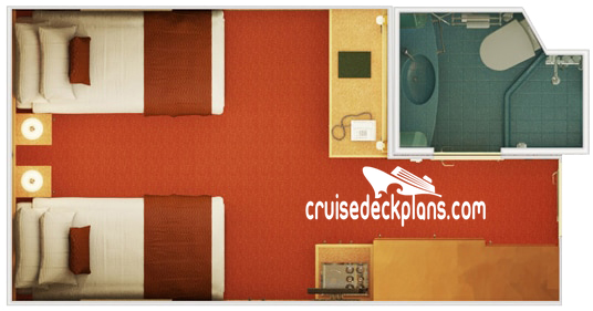 Carnival Splendor Interior Diagram Layout
