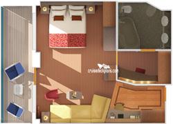 Carnival Dream Grand Suite Stateroom