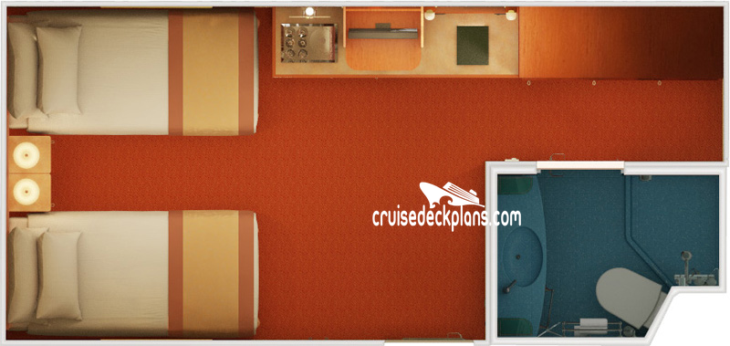 Carnival Valor Interior Diagram Layout