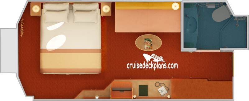 Carnival Valor Porthole Diagram Layout