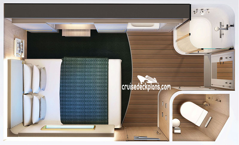 Norwegian Encore Studio Diagram Layout