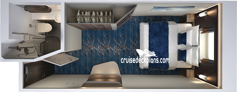Norwegian Encore Oceanview Diagram Layout