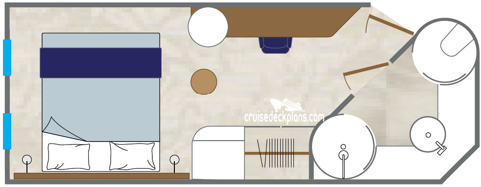 Wind Surf Stateroom Diagram Layout