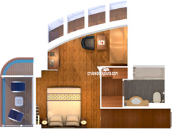 Grand Scenic Suite diagram