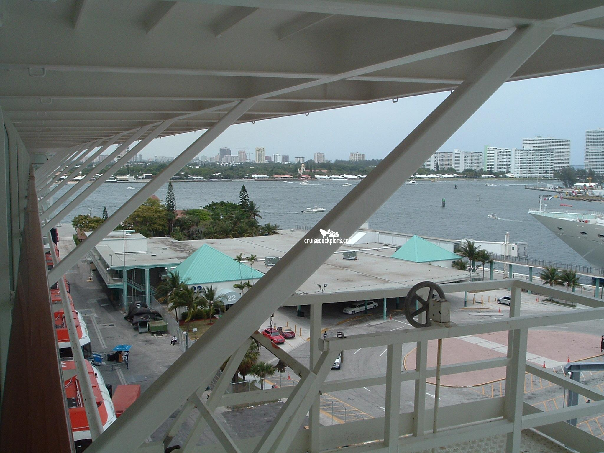 Celebrity Infinity Deck 9 Balcony