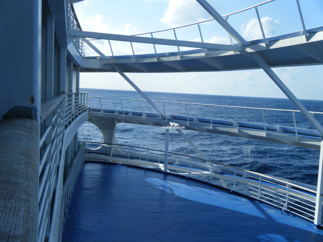 Explorer of the Seas Aft Balcony